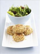 Mackerel and Quinoa Patties