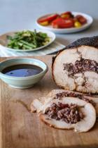 Roast turkey with cranberry glaze and festive RicePlus stuffing