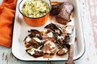 Mushroom with Herb Couscous & Lamb