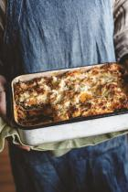 Vegetable Lasagna by Jody Vassallo from her book The Yogic Kitchen