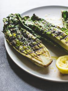 Grilled Romaine, and Parmesan