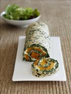 Pumpkin, Pine nut and Spinach roll