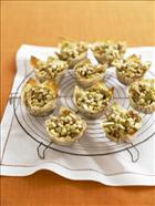 Crispy Apple and Walnut Cups